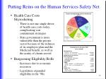 putting reins on the human services safety net