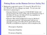 putting reins on the human services safety net3