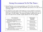 sizing government to fit the times3
