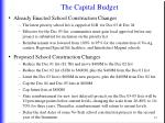 the capital budget4
