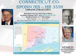 connecticut co sponsors hr 3559