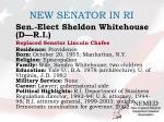 new senator in ri