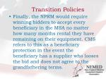 transition policies3