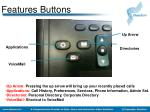 features buttons