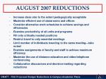 august 2007 reductions1