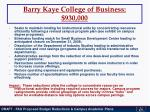 barry kaye college of business 930 000