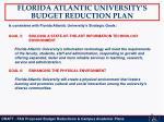 florida atlantic university s budget reduction plan5