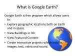 what is google earth