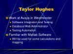 taylor hughes