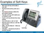 examples of soft keys