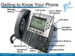 getting to know your phone