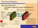 flat panel displays18