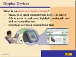 display devices13