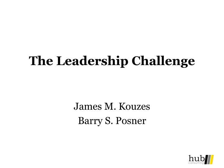 the leadership challenge n.