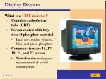display devices34
