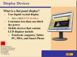 display devices37