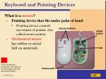 keyboard and pointing devices6