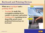 keyboard and pointing devices9