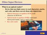 other input devices25