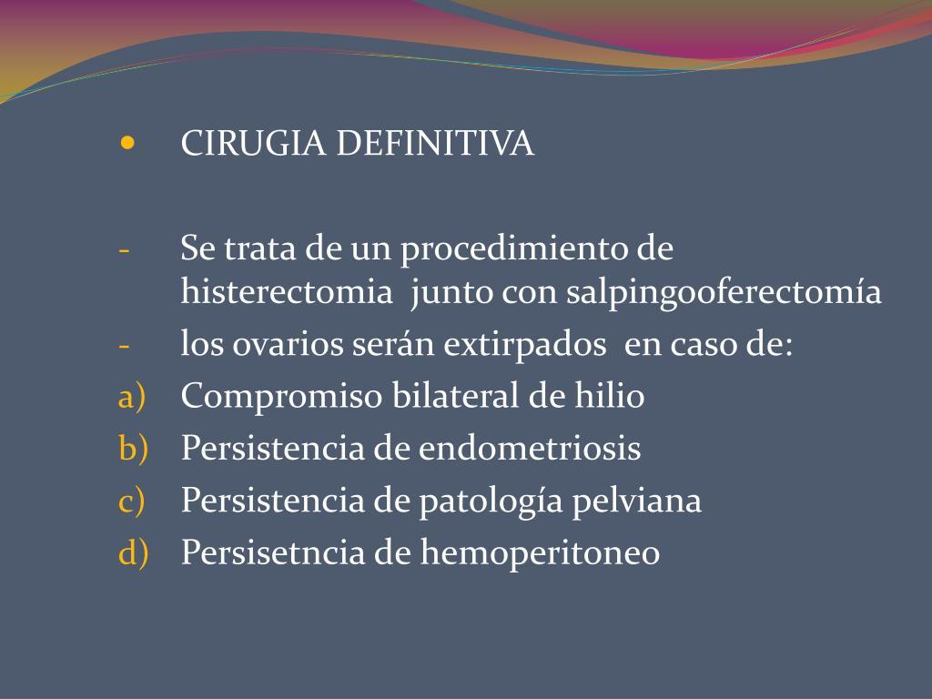CIRUGIA DEFINITIVA