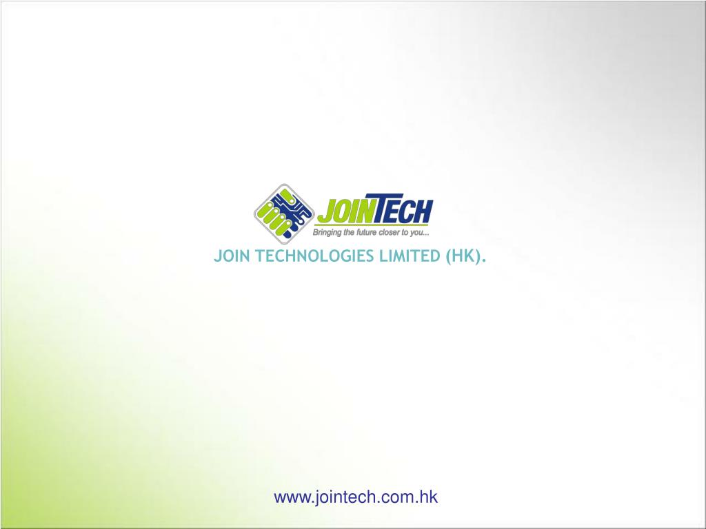JOIN TECHNOLOGIES LIMITED