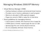 managing windows 2000 xp memory