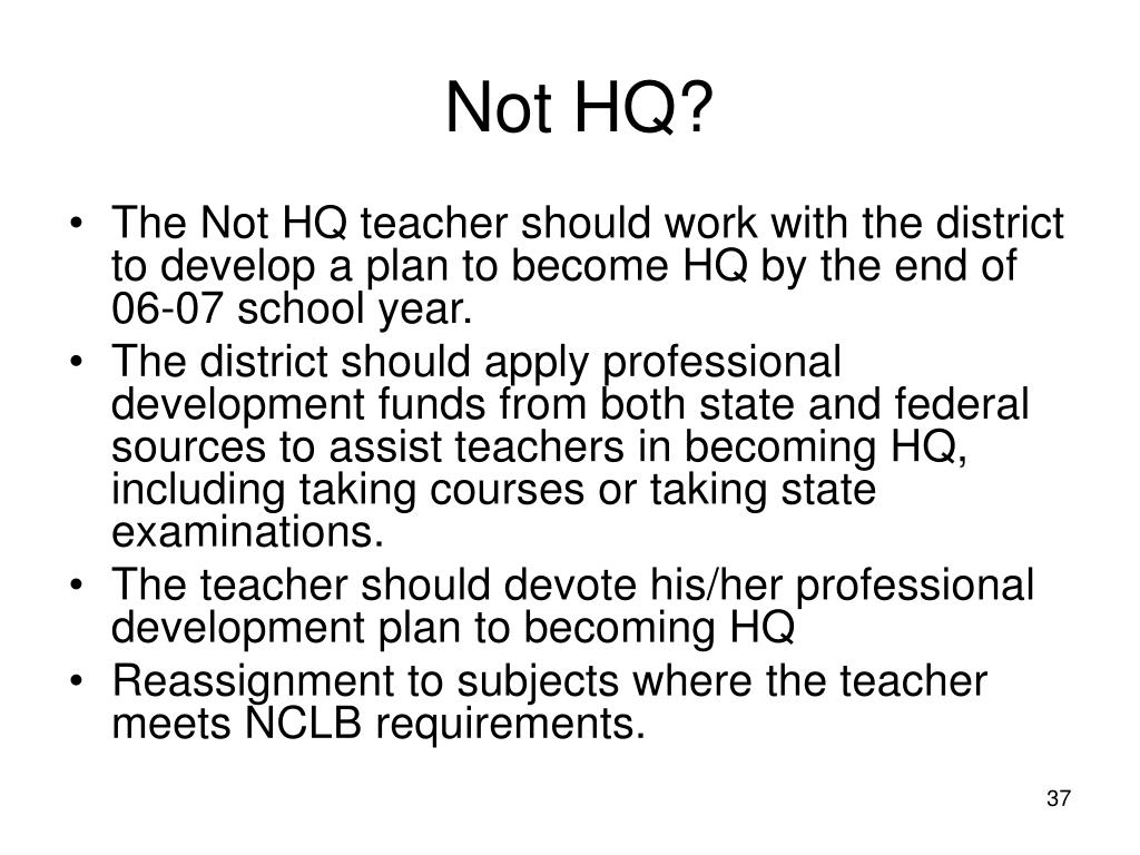 Not HQ?