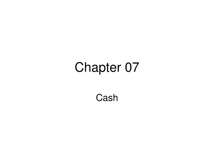 chapter 07 n.