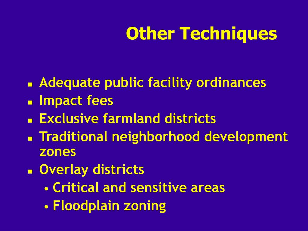 PPT - Implementation of Urban Planning: Zoning and