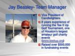 jay beasley team manager