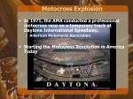 motocross explosion
