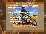 sport progression