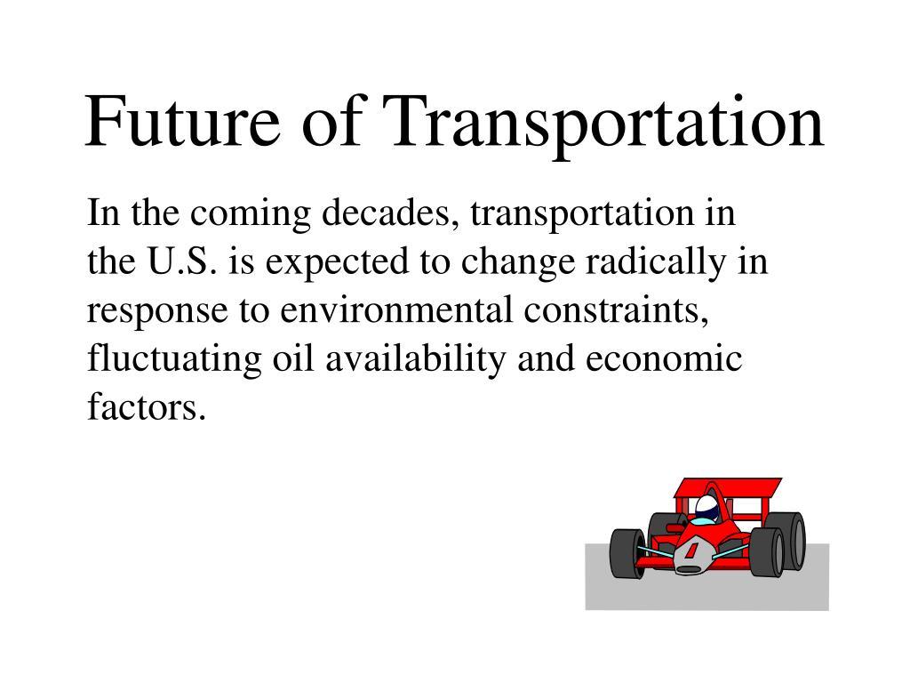 future of transportation l.