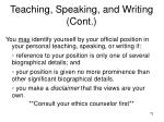 teaching speaking and writing cont73
