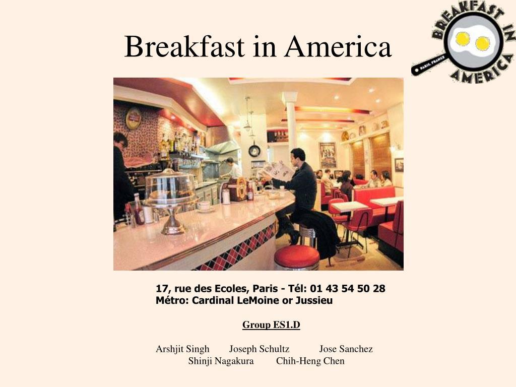 breakfast in america l.
