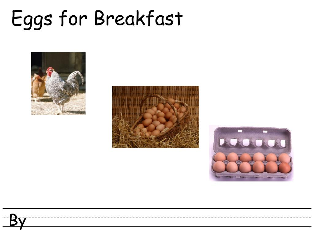 eggs for breakfast l.