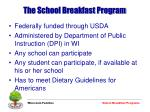 the school breakfast program9
