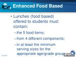 enhanced food based9