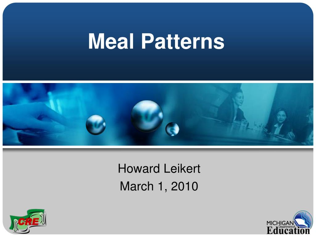 meal patterns l.