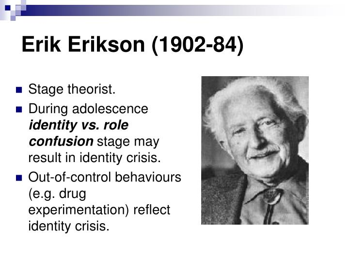erik eriksons theory on aging This article explores the relationship of erik erikson's psychosocial developmental theory and abraham maslow's hierarchy of needs to the needs of older persons for continued spiritual development.