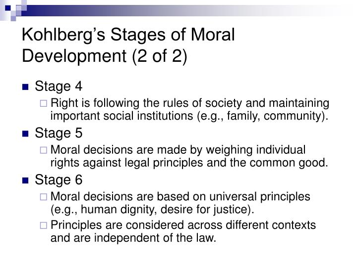 lawrence kohlbergs stages of moral development essay Moral development - lawrence kohlberg essays: over 180,000 moral development - lawrence kohlberg essays, moral development - lawrence kohlberg term papers, moral development - lawrence kohlberg research paper, book reports 184 990 essays, term and research papers available for unlimited access.
