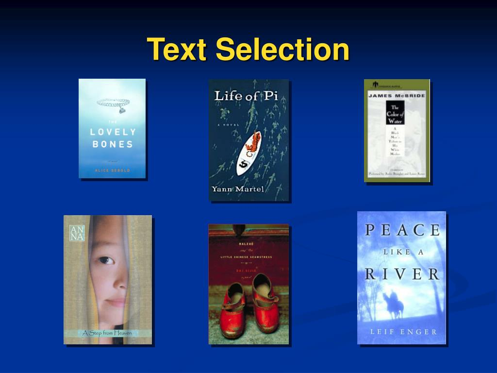 Text Selection