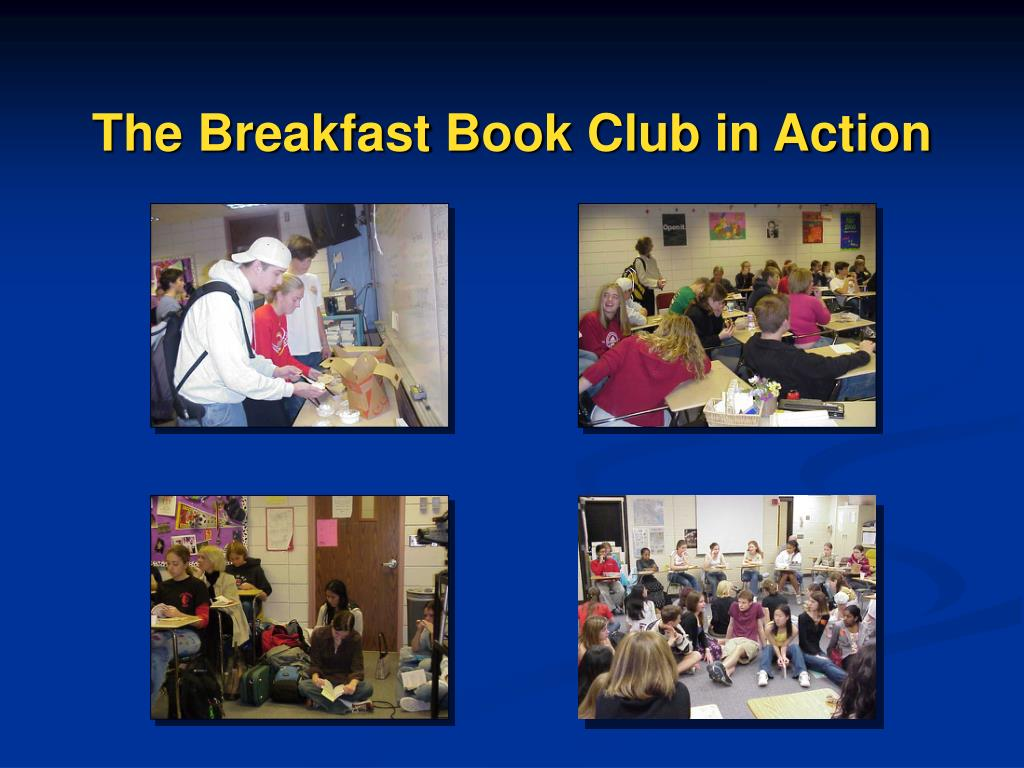 The Breakfast Book Club in Action