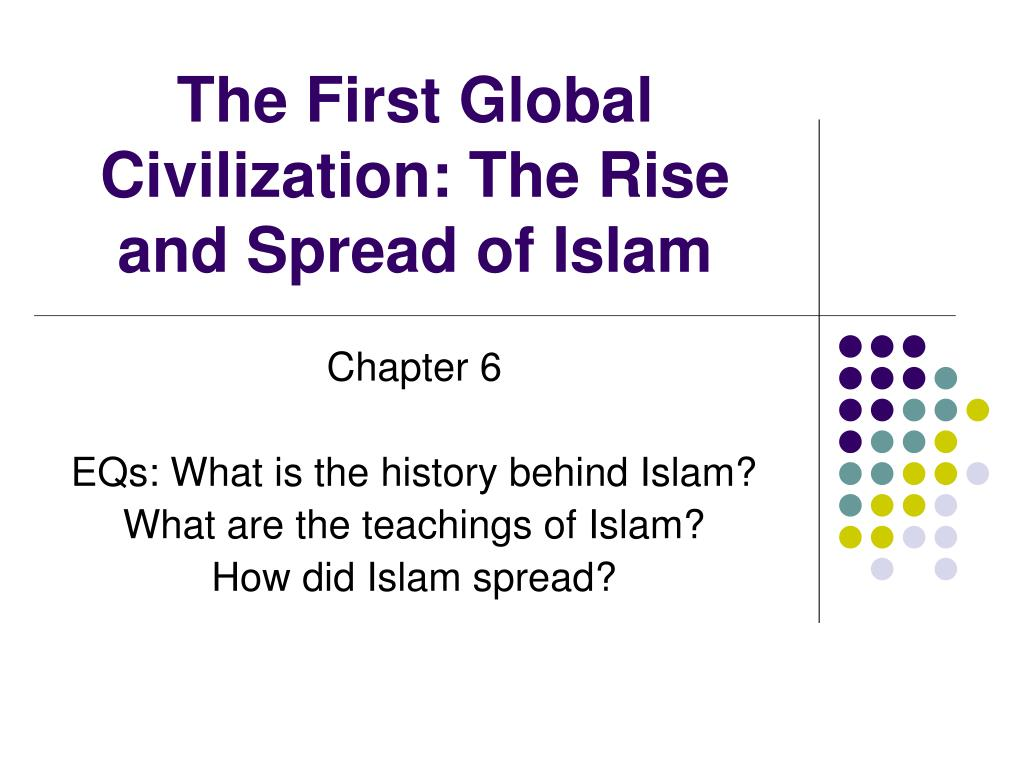 how did islam spread following the The main dynamics of the rapid spread of islam during the tenth century, islam was the predominant religion of an area covering more than half of the then-known world its adherents inhabited three continents: from the pyrenees and siberia up to china and new guinea, and from morocco to the southern tip of africa.
