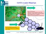 cell id location mappings