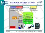 iscom data collection workflow