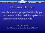 nuisance defined39