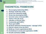 theoretical framework9
