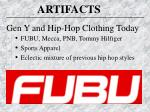 gen y and hip hop clothing today