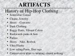 history of hip hop clothing
